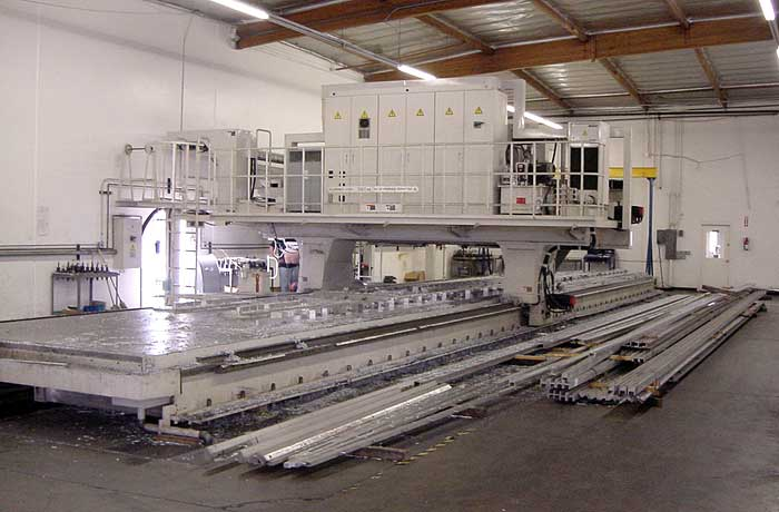 Axis Machining Center  Rpm Spindles  Deg Rotation In A B Size 60 Ft X 12 Ft X 40 In